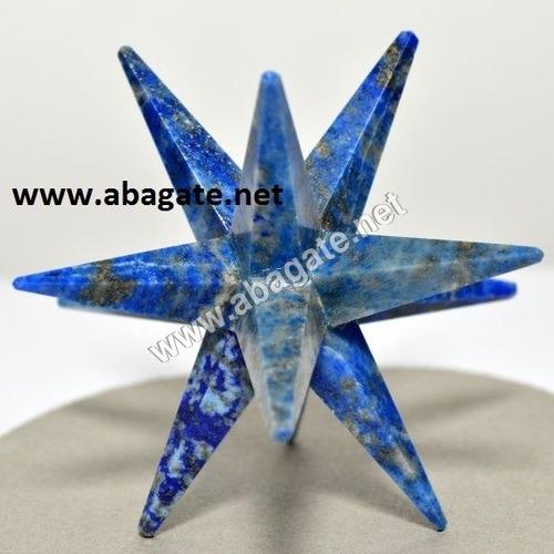 Lapis Lazuli-12-Point Markaba Star