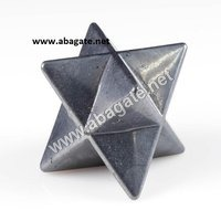 Hematite Markaba Star