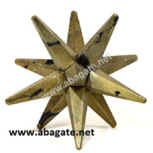 Pyrite-12-Point Markaba Star