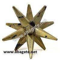 Pyrite-12-Point Markaba Star
