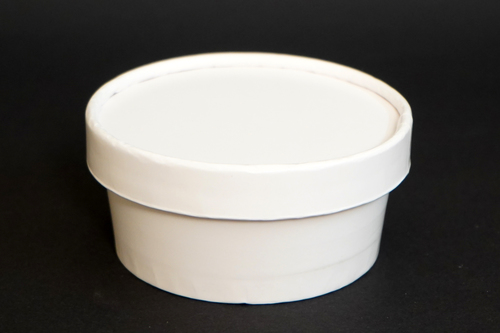 125ML Paper Tub With Lid