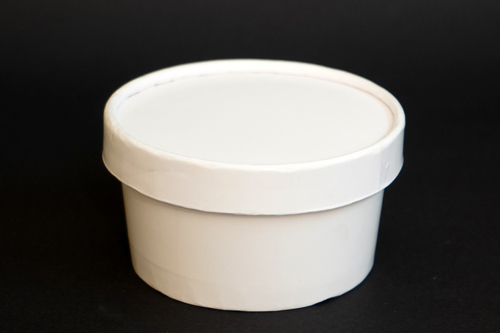 250ML Paper Tub With Lid