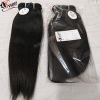Virgin Brazilian Deep Straight Human Hair Extension