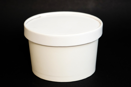 350ML Paper Tub With Lid