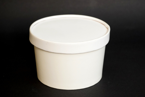 500ML Paper Tub With Lid
