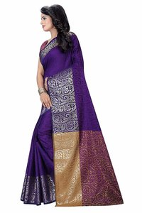 Fancy work Casual Saree