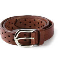 Ladies Wide Leather Belt