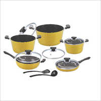 12 Pcs Cookware Set Dark Rock