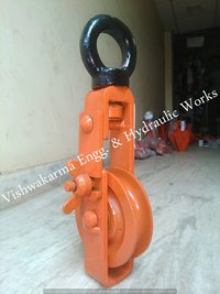 Double Sheave Rope Pulley