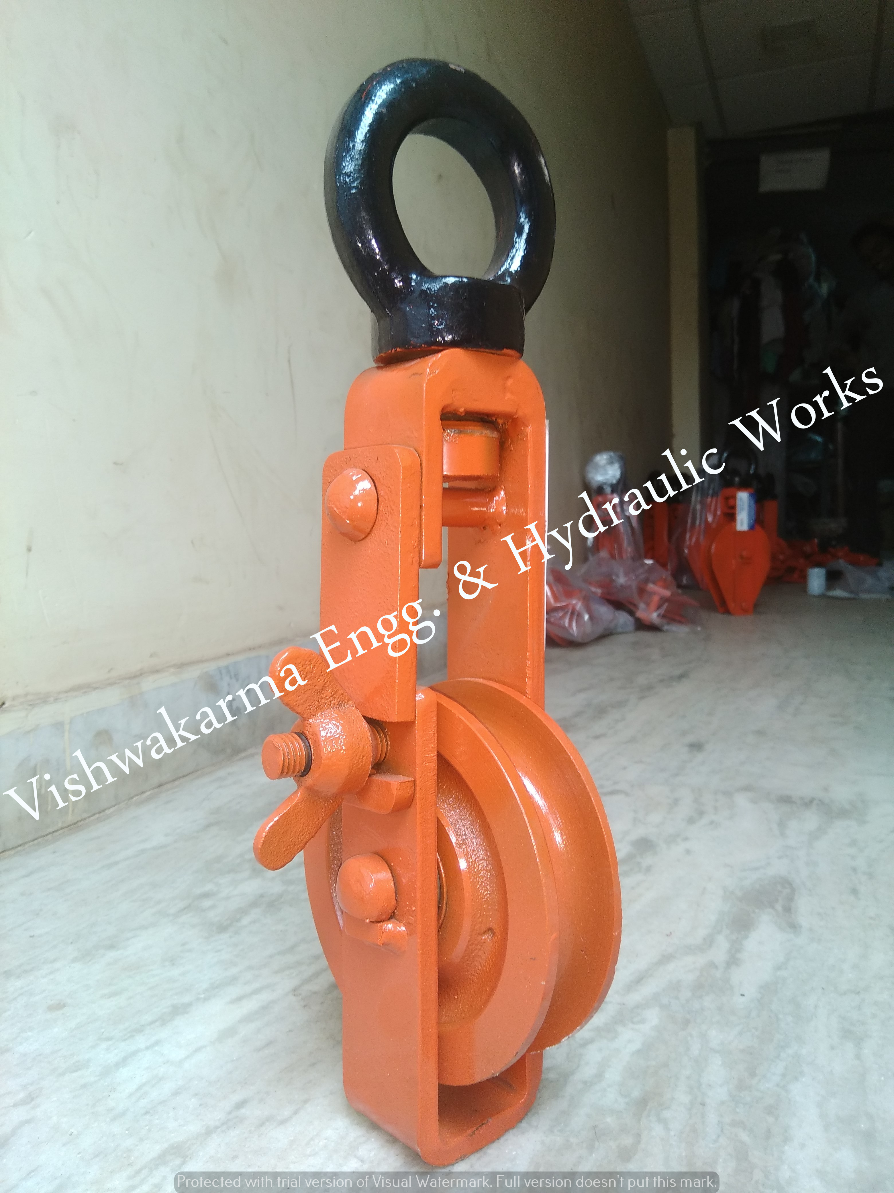 Four Sheave Rope Pulley