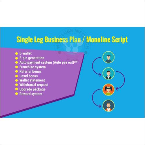 MLM Single Leg Plan Software