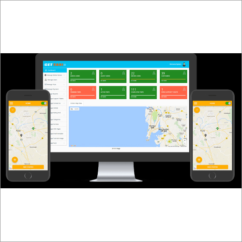 Cab Booking Android Application
