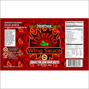 Food Product Label