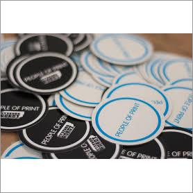 Round Printed Sticker