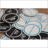 Round Printed Sticker
