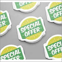 Self Adhesive Printed Sticker