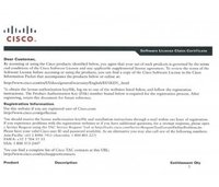 L-LIC-CT5508-1A,25A,50A CISCO 5500 Series Wireless Controller License