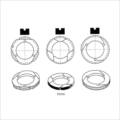Carbon And Graphite Gland Seal Ring