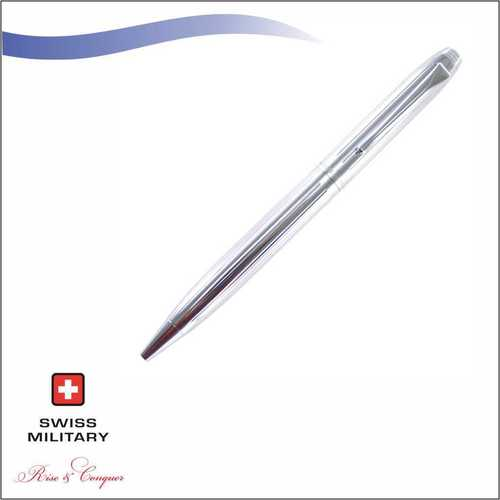 Swiss Military Chrome Plated Ball Pen