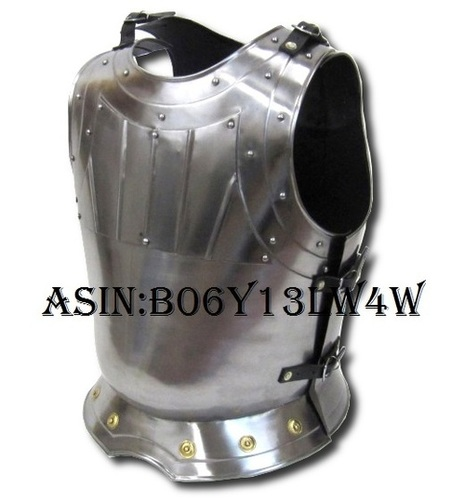 Medieval Warrior Breastplate - Fitted - Metallic - One Size