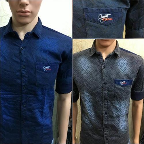 Denim Plain Shirt