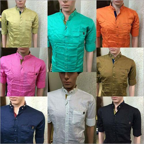 Plain Paper Cotton Shirt