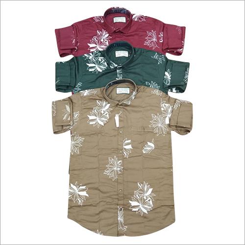 Fancy Flora Printed Shirt