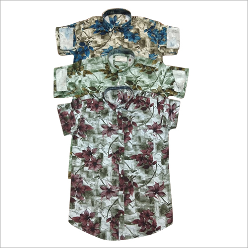 Designer Floral Printed Shirt