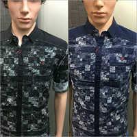 Twill Print Shirt