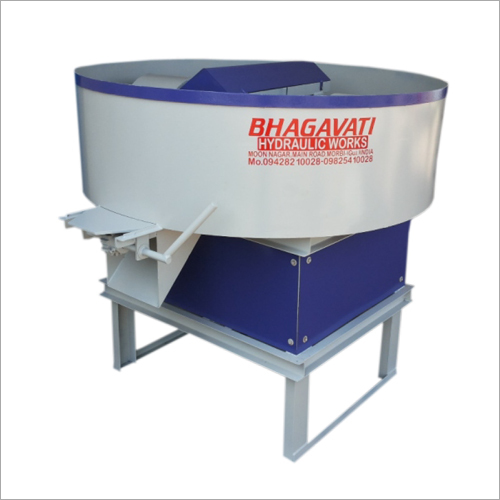 Pan Mixure Machine Roller & Blade Type System