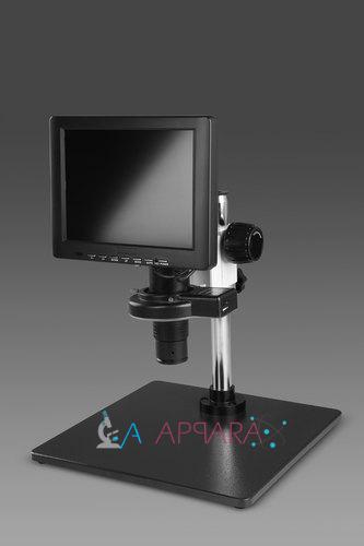 Labappara 7x - 45x Mono Zoom LCD Microscope