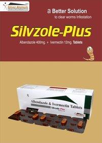 Albendazole 400mg + Ivermectin 12mg
