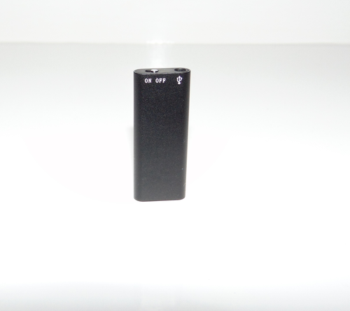 SPYEYES - Smallest 8GB Professional Spy Voice Recorder Digital Audio + MP3 Player + USB Flash Drive