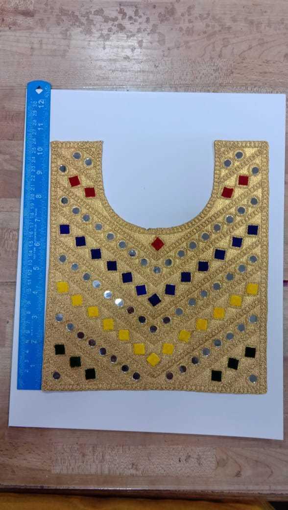 embroidery velvet gala