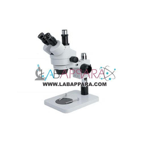 Labappara 7 X To 45 X Continuous Zoom Stereo Trinocular Microscope