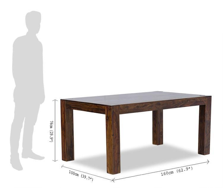 Solid wood dining table set Snazzy