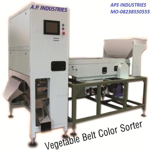 Garlic color shorting machine