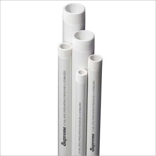 UPVC High Pressure ASTM Threaded Pipe