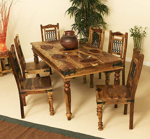 Solid wood Dining table set Regal