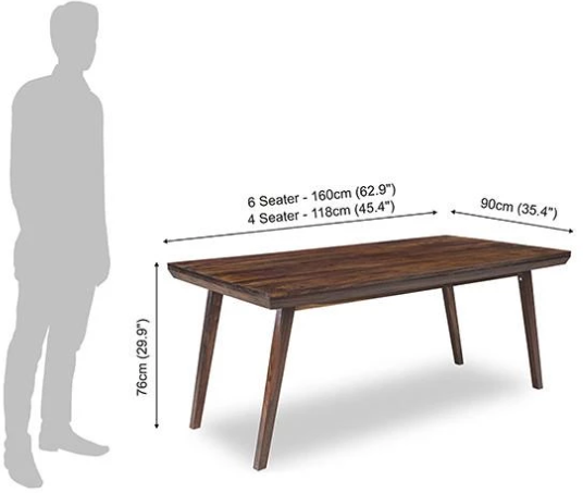 Solid wood Dining table set Mosiac