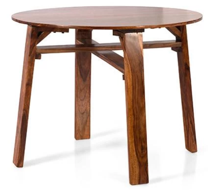 Solid wood Round Dining table set Mystir