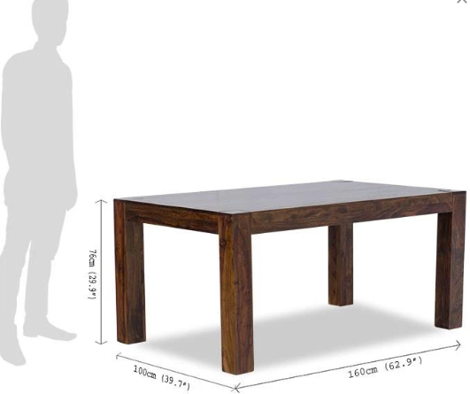 Solid wood Dining table Set Revenant