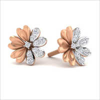 Floral Designer  Stud Earrings
