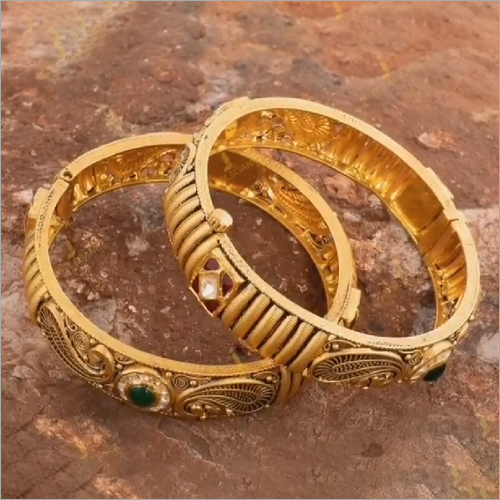 Ladies Gold Kada