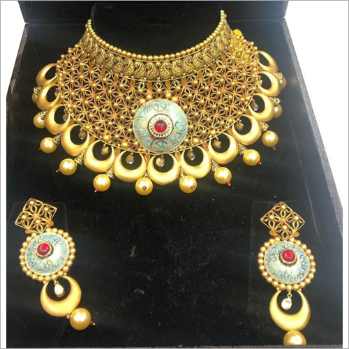 Wedding Gold Necklace Set
