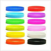Silicone Plain Wrist band