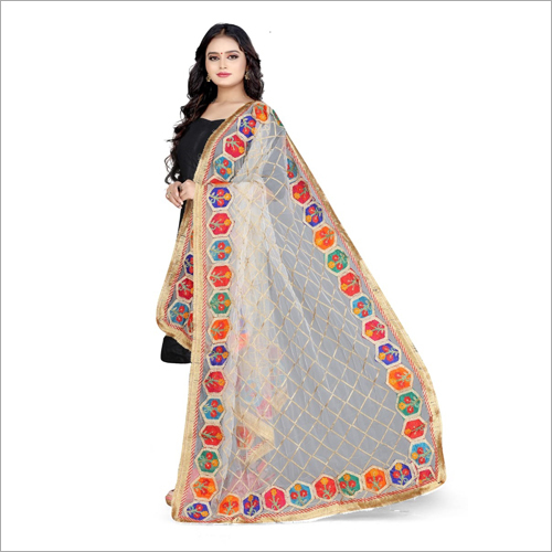 Ladies Embroidered Dupatta
