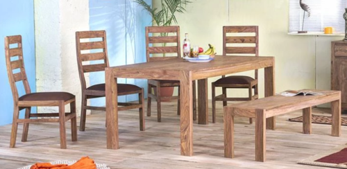 Wooden Dining table set Amigo
