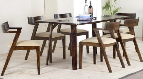 Wooden dininf table Set Smasher