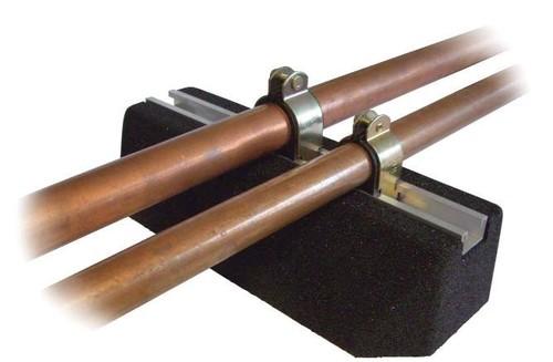 Terrace copper pipe suppor